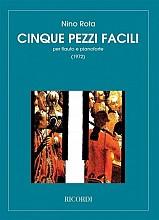Nino Rota 5 Pezzi Facili For Flauto And Piano Nuty Na Flet Z